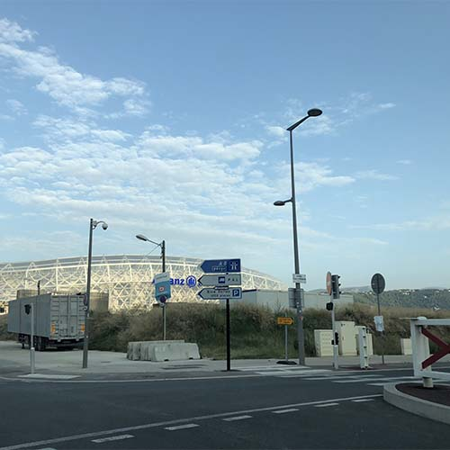 croisement stade allianz riviera