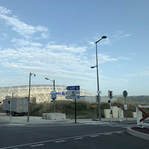 croisement stade allianz riviera